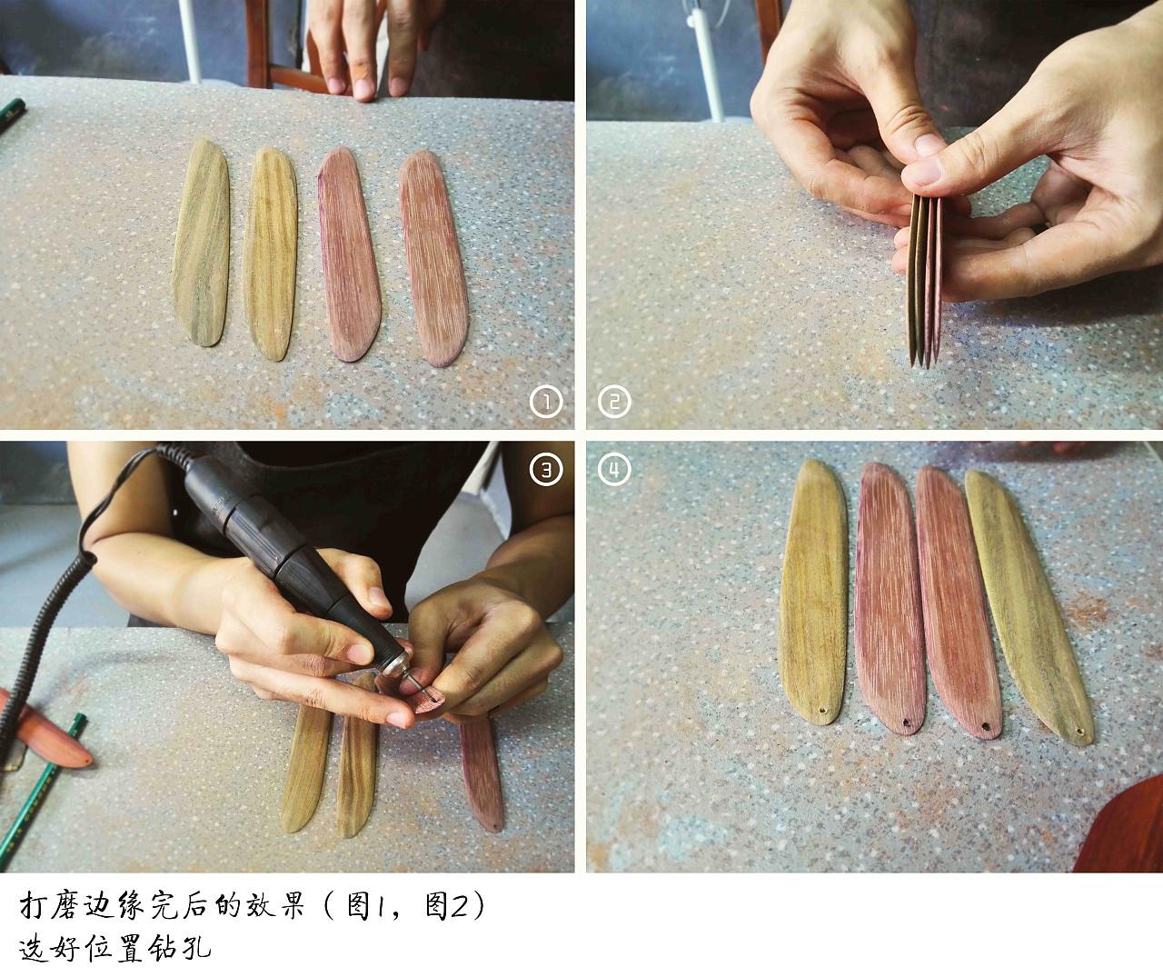 """""""九〇造"""" 木制书签的手工制作体验"""