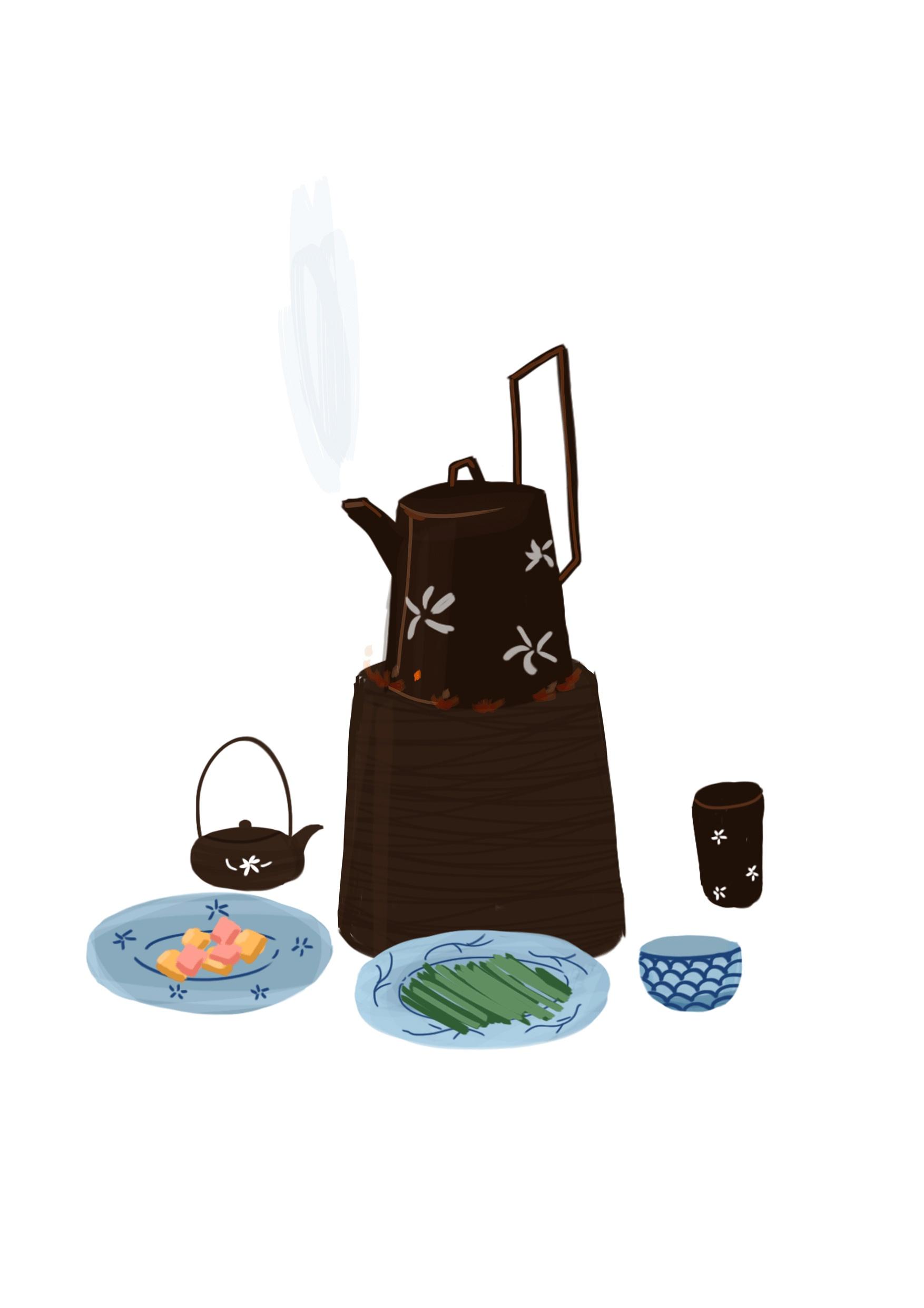 艺妓回忆录_艺妓回忆录 插画 商业插画 青年福猫 - 原创作品 - 站酷 (ZCOOL)