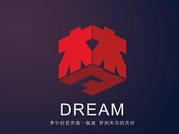 梦-立体字体设计