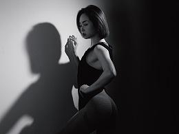 摄影小白如如何使用光影拍摄有质感的健身作品|
