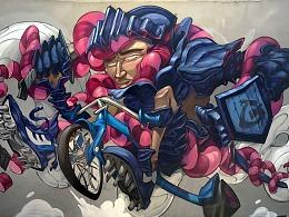《Toys Knight》NILone18s涂鸦作品回顾
