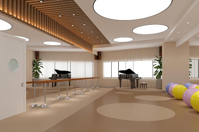 舞蹈学校_成都舞蹈学校装修设计案例分享-成都培训学校装修设计