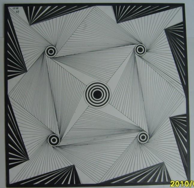 水粉 手绘素描 平构