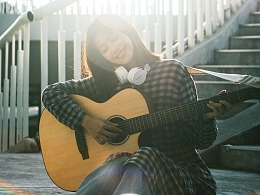 夏末,吉他和你