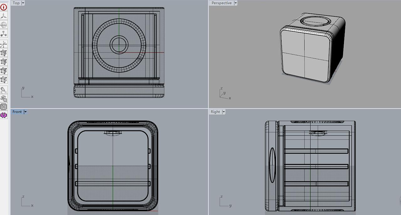 家用小冰箱设计 工业/产品 生活用品 用户名huishi图片