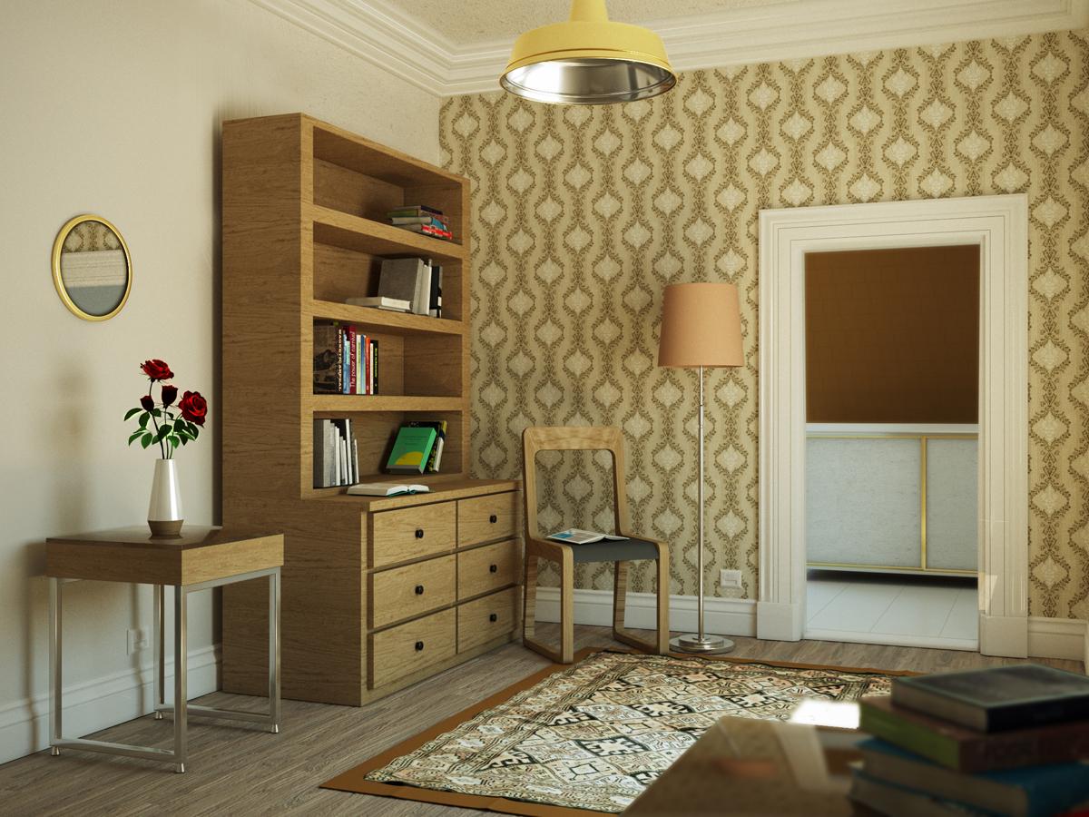 室内练习|三维|建筑/空间|taotang - 原创作品 - 站酷