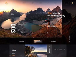 网页版式设计练习