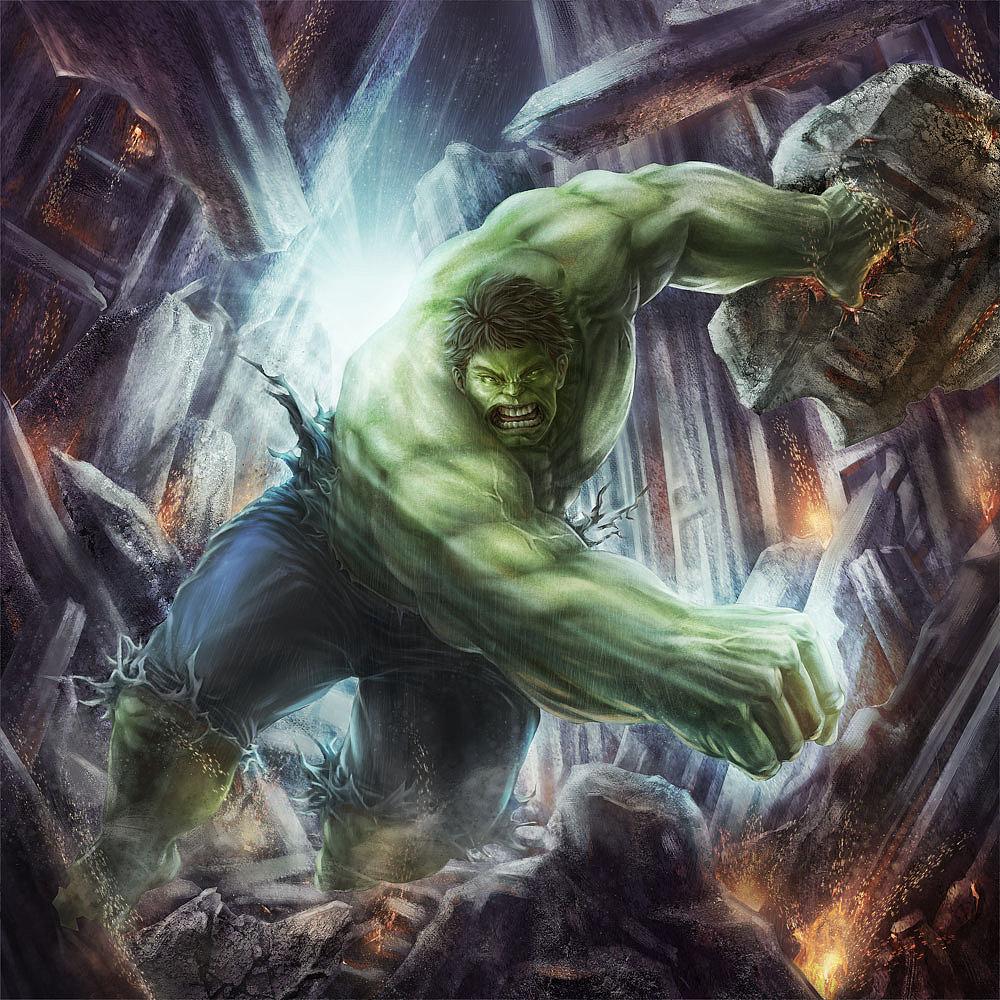 在 复联1 里洛基被浩克猛锤都没死,为什么被灭霸捏死了
