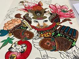 日本浮世绘 纹身图案