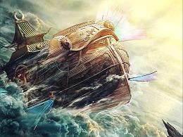 电影《古剑奇谭之流月昭明》概念海报