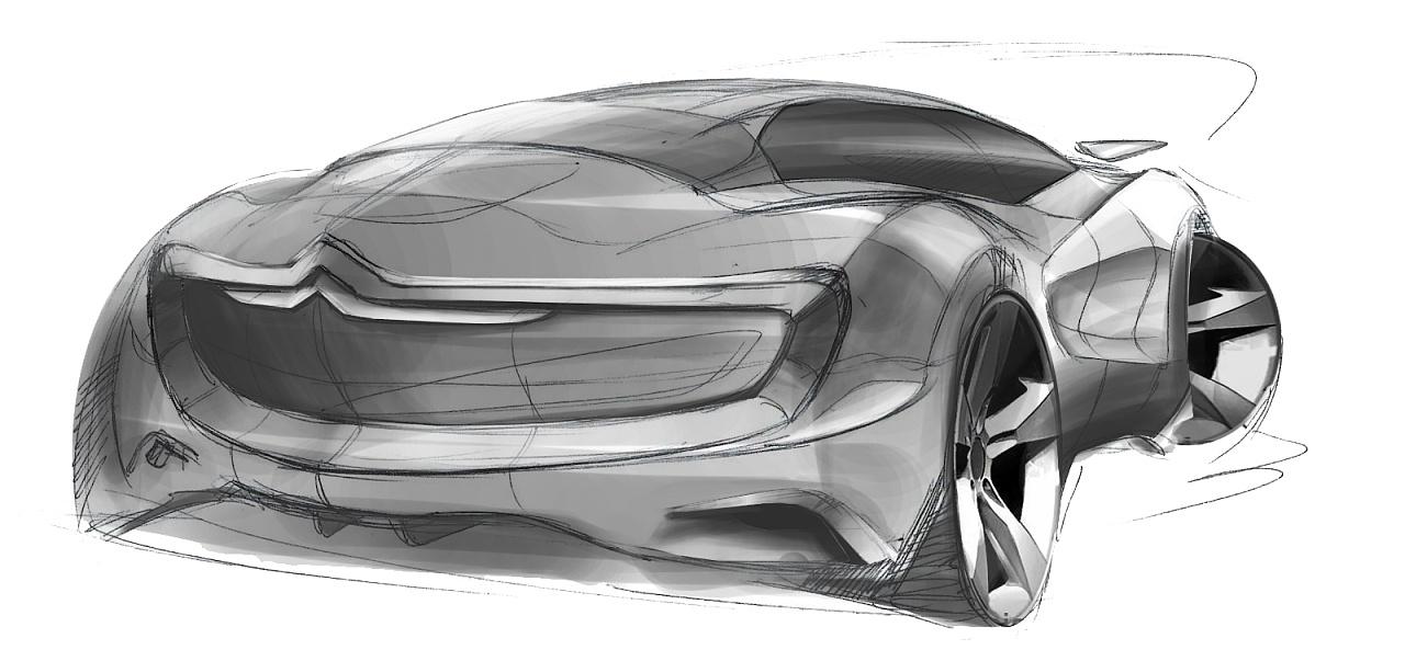 汽车设计手绘表达