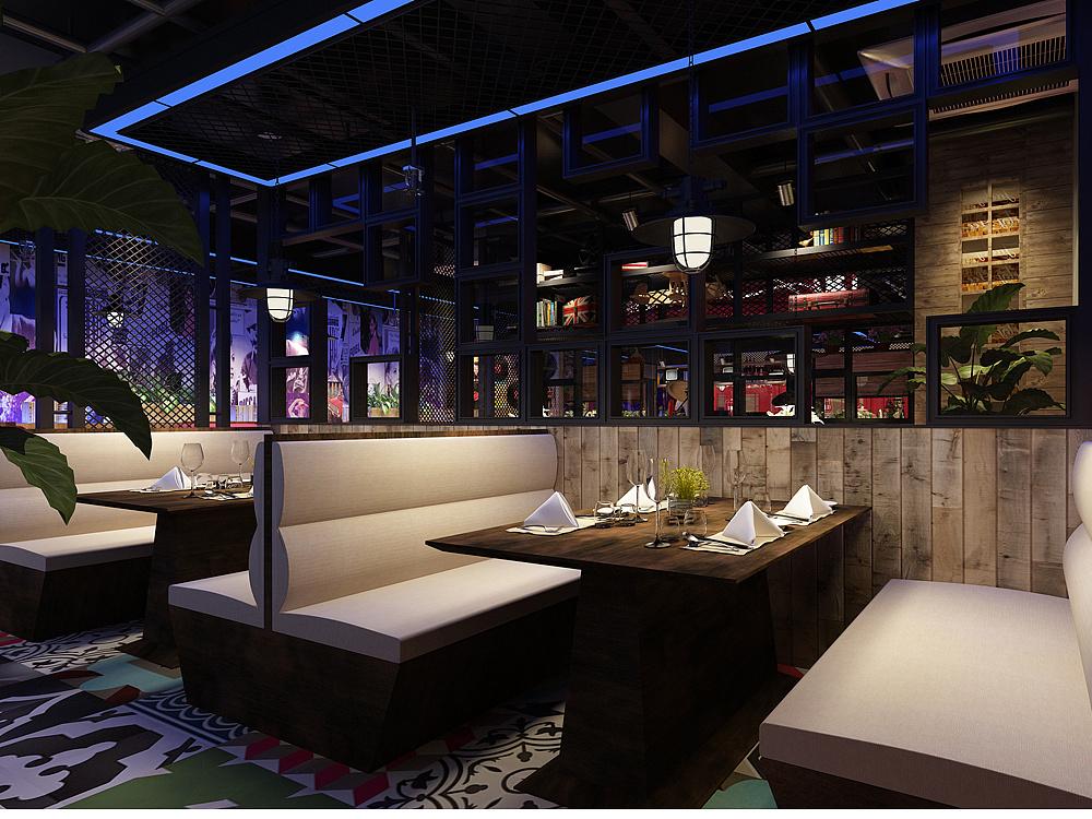 成都餐厅设计-成都餐厅装修图|房屋|室内设计|店a六十平米图纸设计空间图片