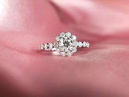 梵尼洛芙珠宝 | 钻戒设计《欢沁 Wax Flower》
