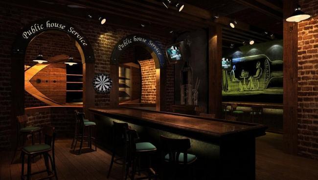 重庆酒吧装修设计-重庆主题酒吧装修设计图片