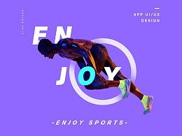 Enjoy sport APP概念设计