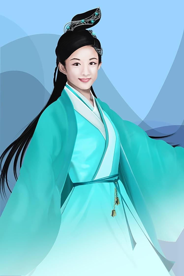 青云志--碧瑶(赵丽颖)|插画|插画习作|冰雪奇冰