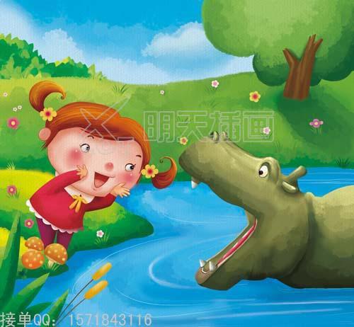 幼儿故事插画-幼儿故事插画简笔画/幼儿故事插画三只小猪/儿童故事图片