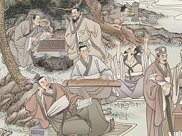 為山東省東營市歷史博物館所創作組畫(選)