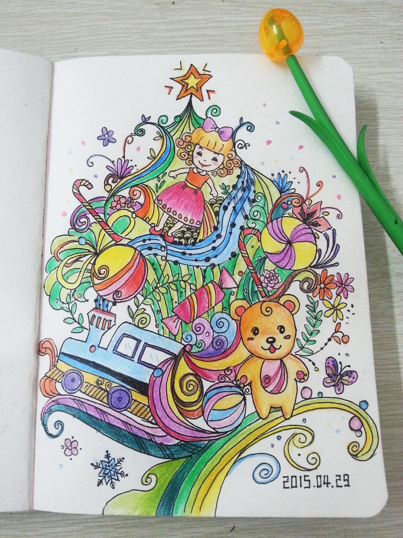 手绘|插画|儿童插画|芾嘉妈妈 - 原创作品 - 站酷