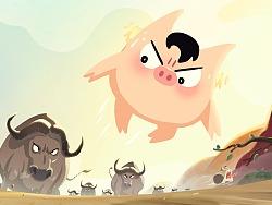 #猪比表情包#第一弹