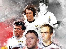 2018世界杯 德国五星之路