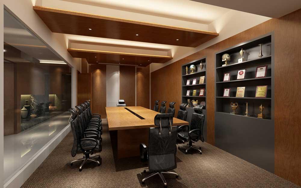 郑州办公室设计,公司办公室装修设计,办公室设计效果图欣赏,九鼎装饰