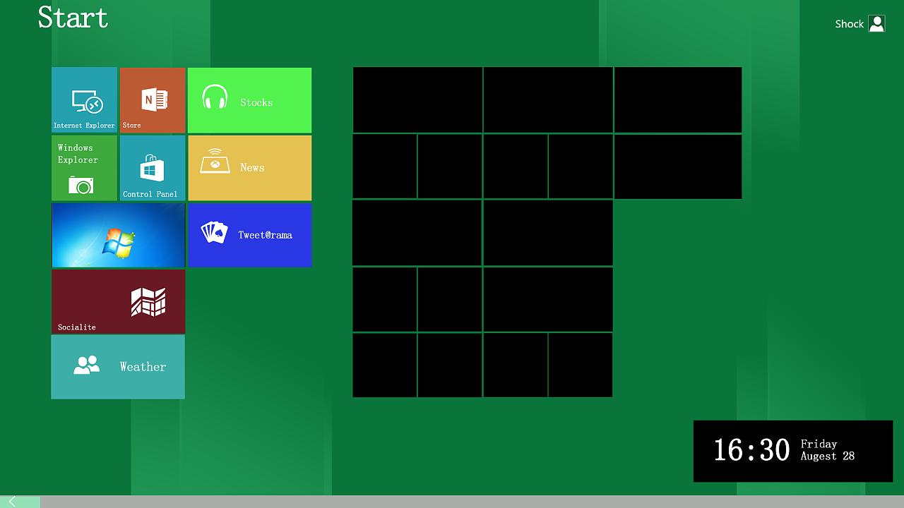 windows 8操作系统图标图片