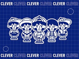 CLEVER CHILDREN'S WEAR 品牌视觉设计