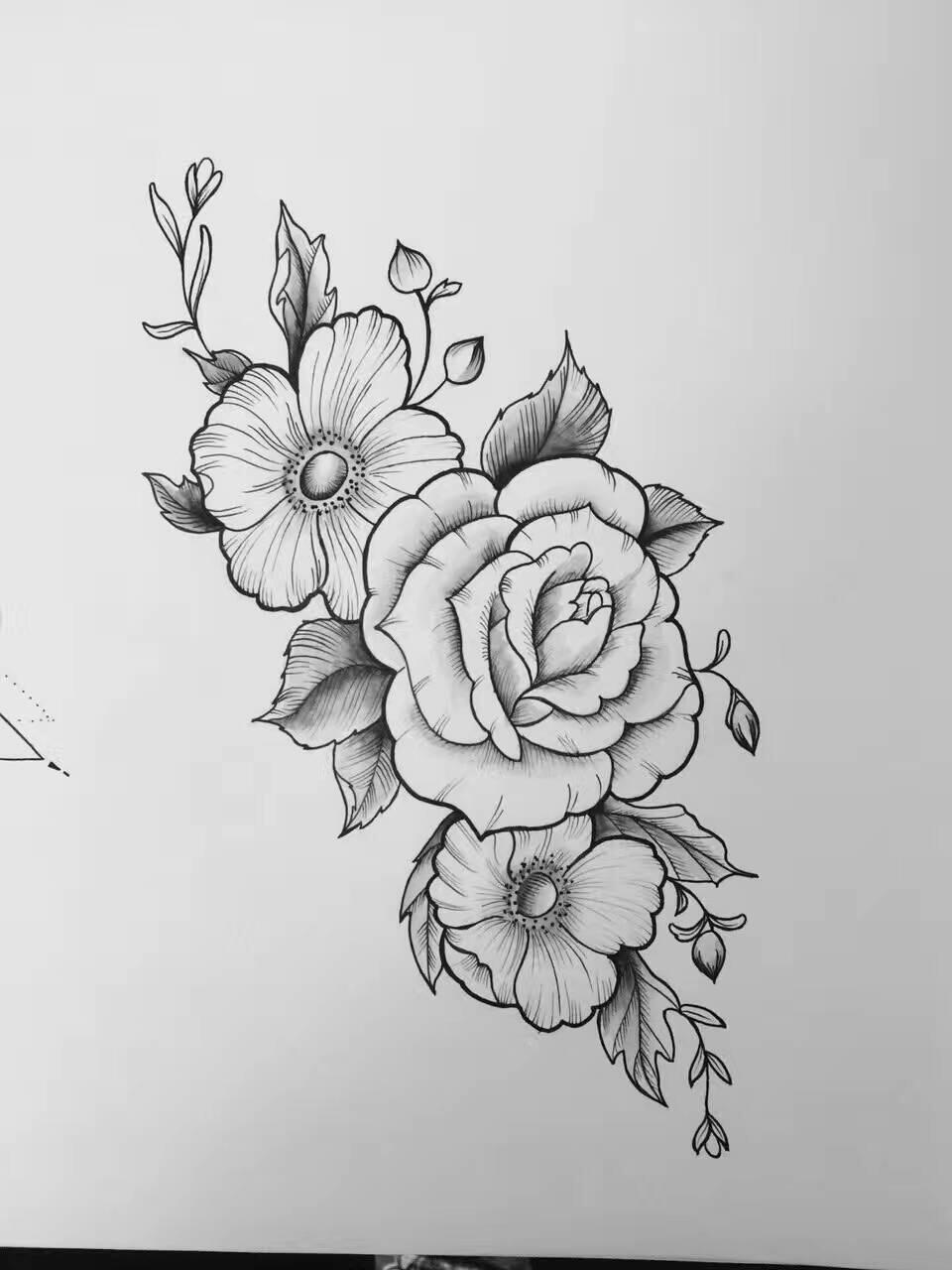 纹身手稿|插画|其他插画|fc0200 - 原创作品 - 站酷