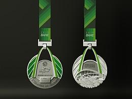 灞河国际半程马拉松奖牌设计