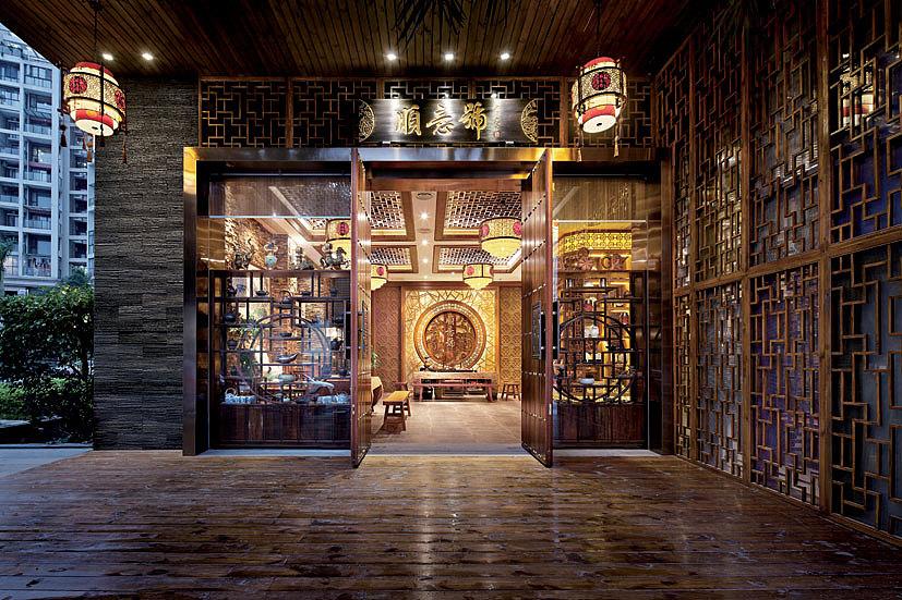 郑州茶楼装修设计,茶馆设计茶室设计,郑州九鼎装饰为您整理发布图片