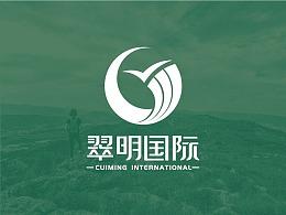 2019/品牌logo/翠明国际旅行社logo设计