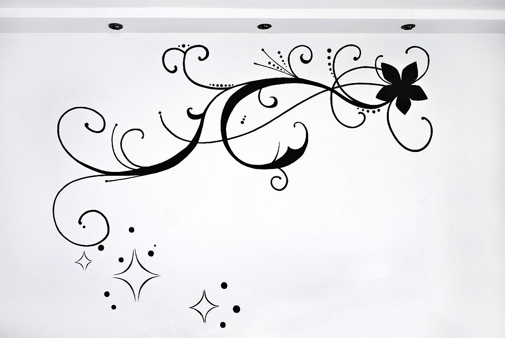 我们家的手绘墙