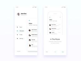 MAIL APP UI Design