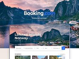 Booking.com — Redesign Concept