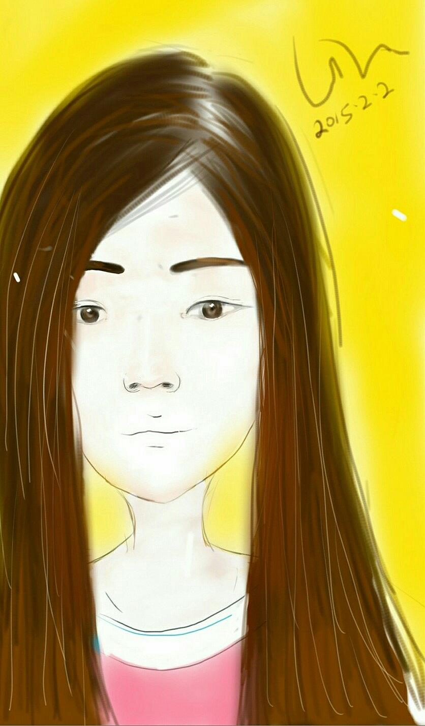 手机绘画人物