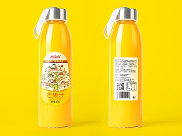 西泰山景区饮品包装设计