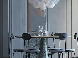 室内设计_3D max阶段作品
