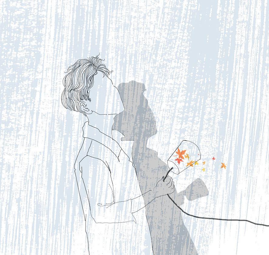 情侣头像|插画|商业插画|秋刀鱼仔 - 原创作品 - 站酷