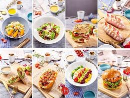 成都美食拍摄酒店菜品拍摄西餐面点面包拍摄小吃拍摄