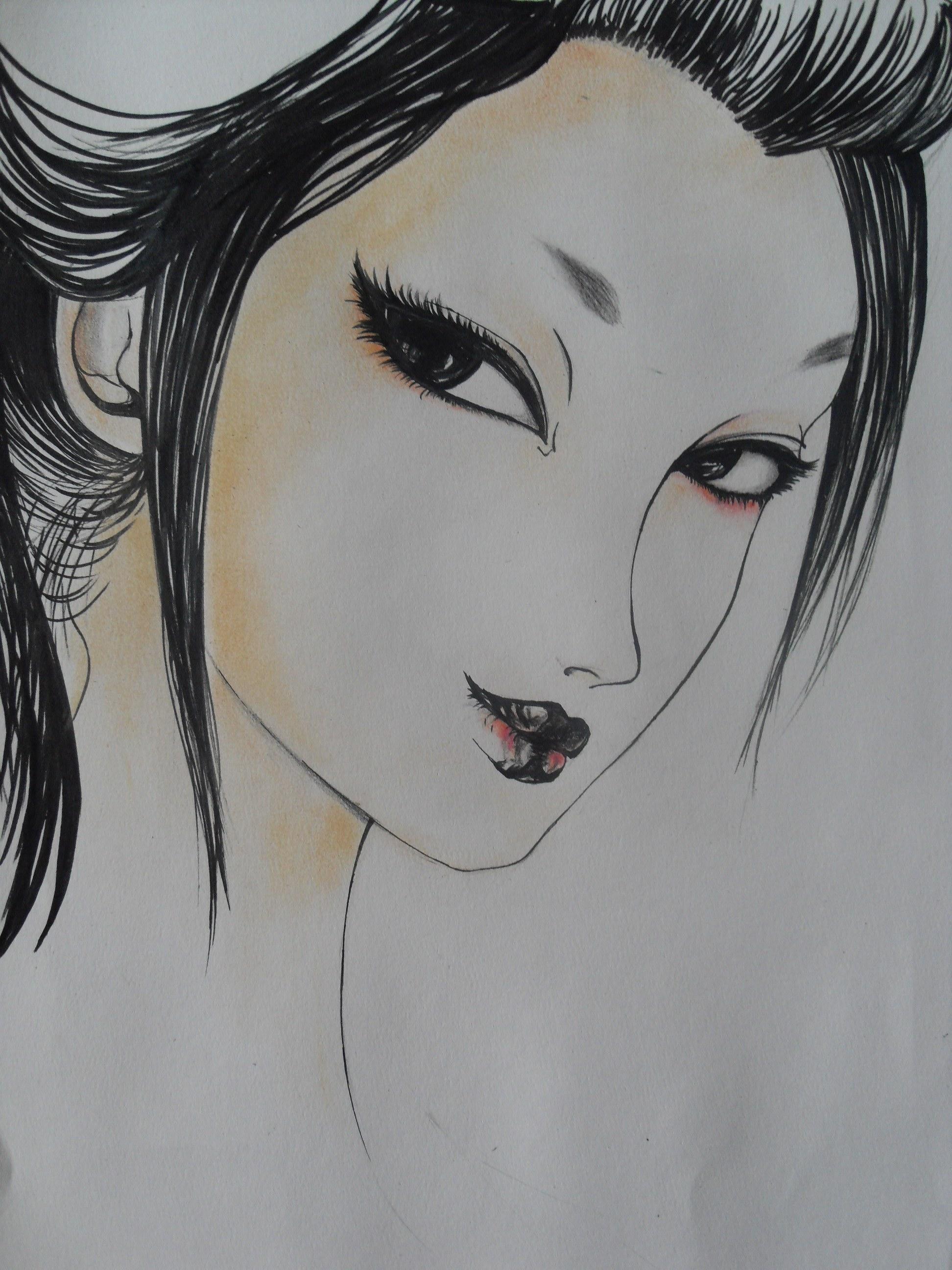 插画,手绘人物