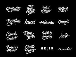brush lettering/ Vol. 2