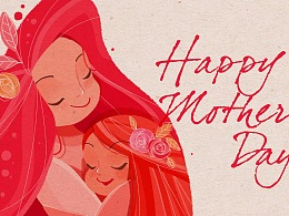 happy mother's day 母亲节