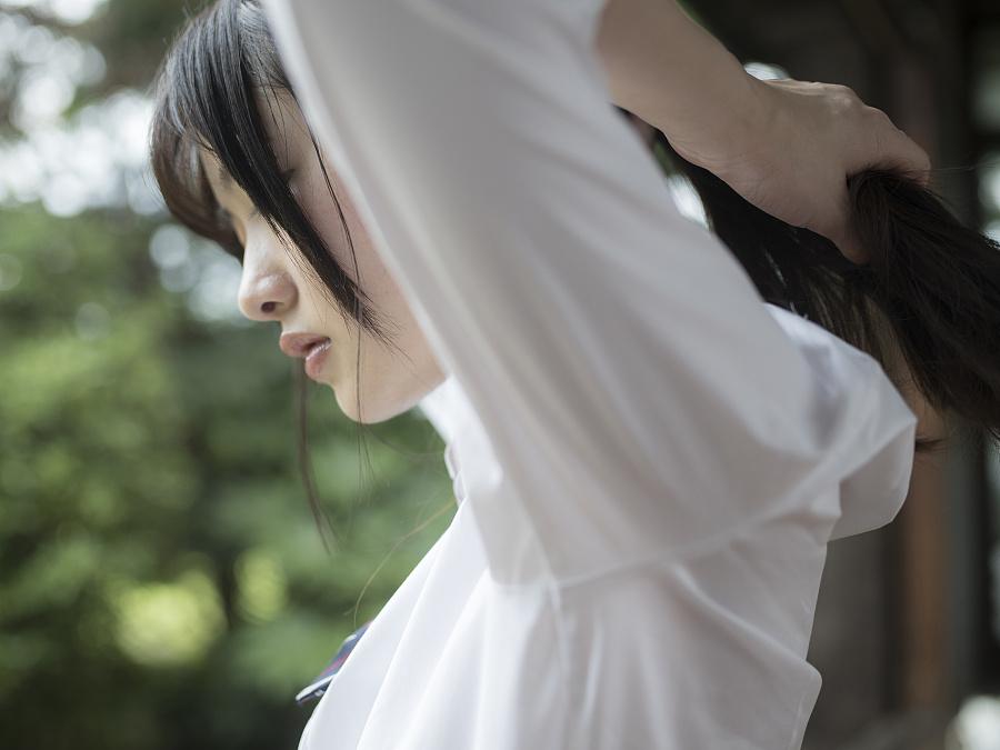 【S24】[-青山裕企-]日系写真青春少女绝对领域摄影后期教程 日系JK制服青春校园人像摄影教程