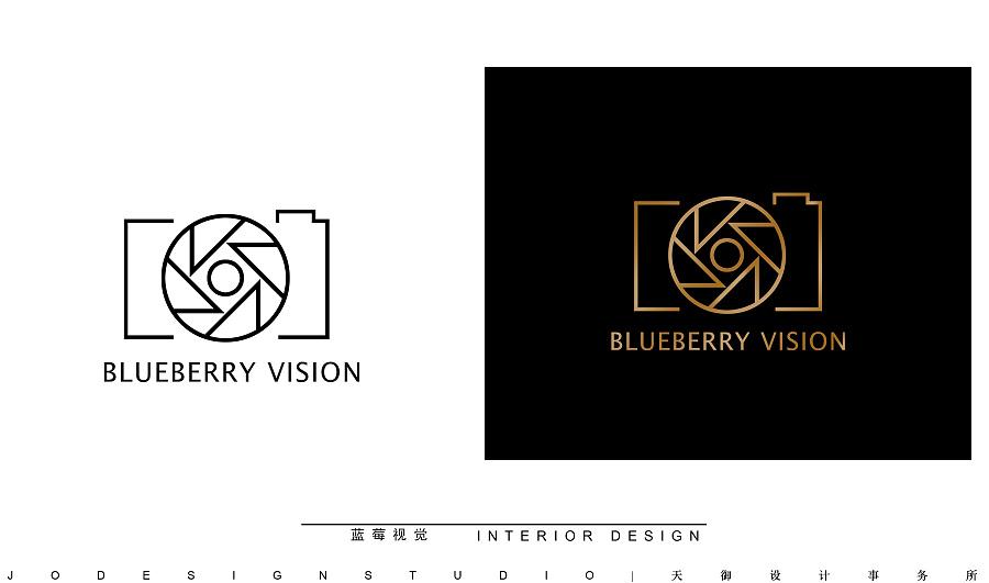 蓝莓v蓝莓工作室LOGO 公司 标志 阿拉鱼鱼-原韶关广告设计平面图片