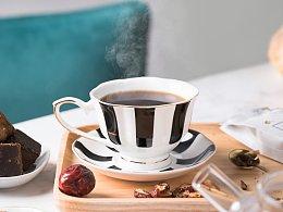 冬日暖意 花茶拍摄
