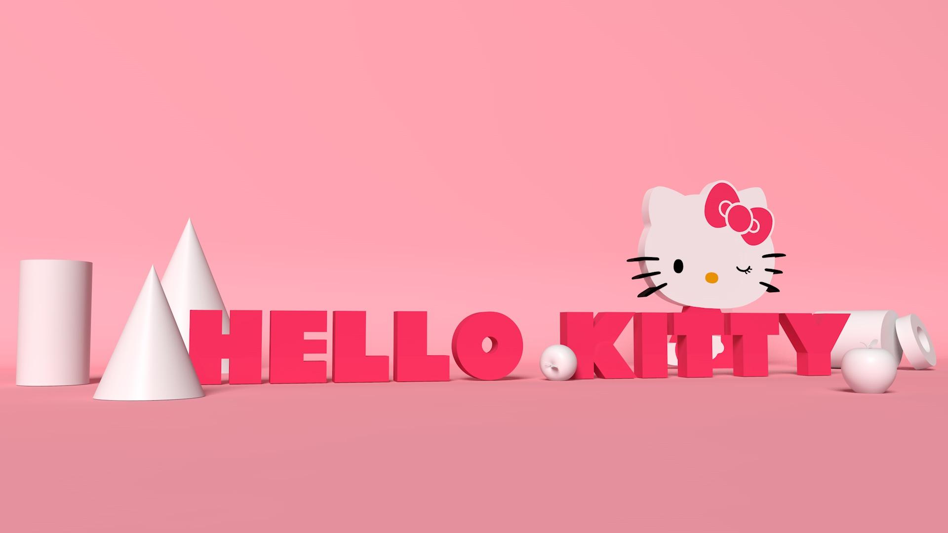 超清kitty电脑壁纸