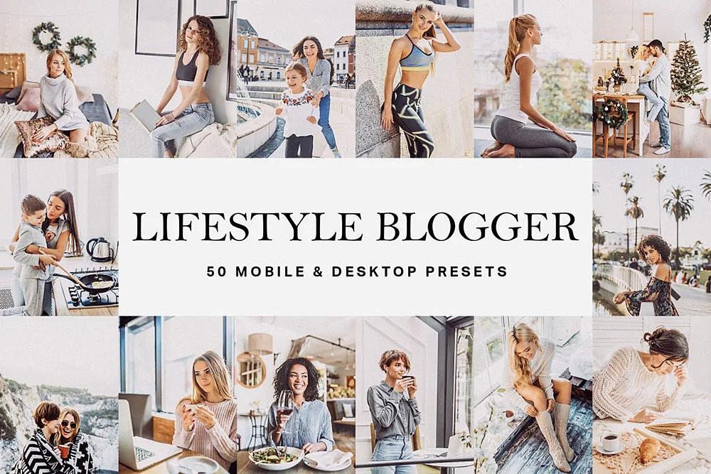 【P248】夏季干净通透人像LR预设+LUT预设 Lifestyle Blogger Presets & LUTs