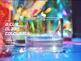 一只玻璃杯