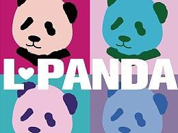iPanda熊猫T恤图案设计